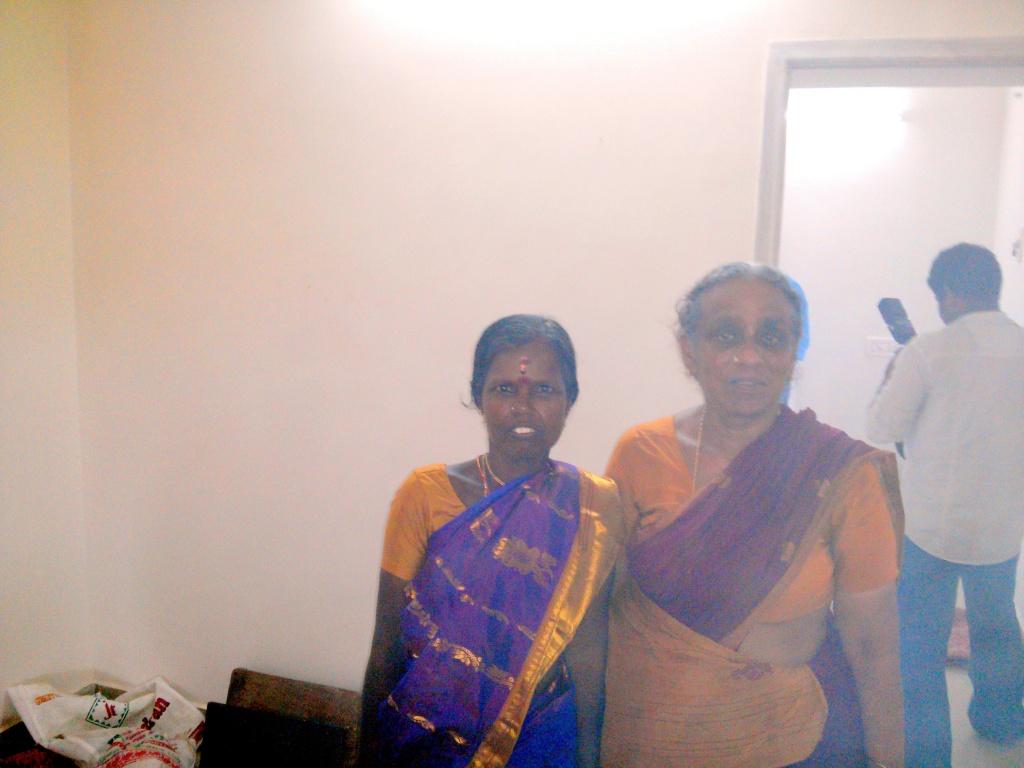 Akka & Amma (in Akka's house)