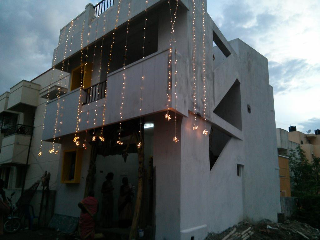 Varalakshmi Akka's home